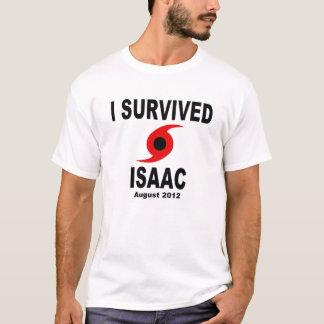 私はハリケーンアイザックを生き延びました Tシャツ