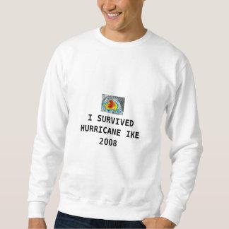 私はハリケーンIKE 2008年を生き延びました スウェットシャツ