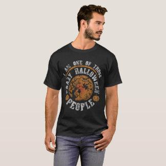 私はハロウィンのそれらの熱狂するな人々の1才です Tシャツ