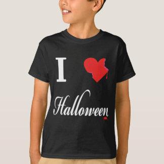 私はハロウィンを愛します Tシャツ