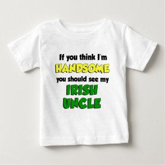 私はハンサムなアイルランドの叔父さんです ベビーTシャツ
