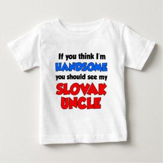 私はハンサムなスロバキアの叔父さんです ベビーTシャツ