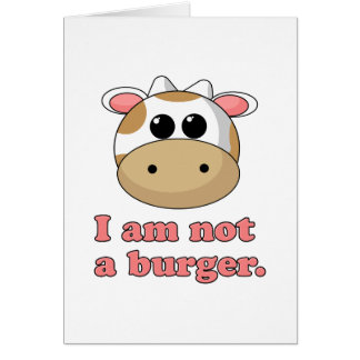 私はハンバーガーではないです カード