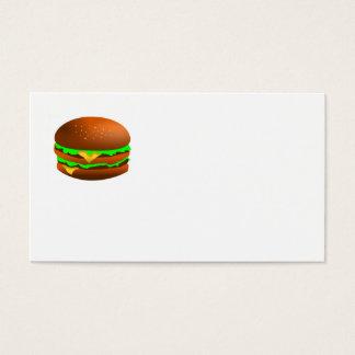 私はハンバーガーを好みます 名刺