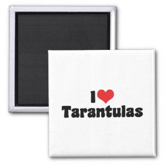 私はハートのタランチュラ-くもの恋人--を愛します マグネット