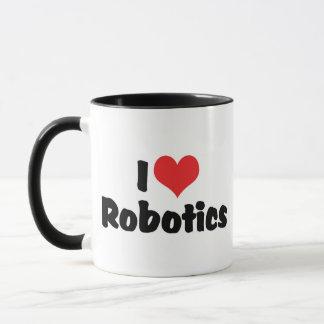 私はハートのロボット工学-ロボット恋人--を愛します マグカップ