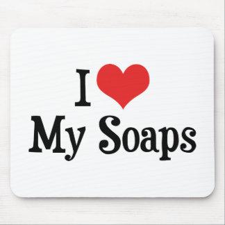 私はハートを私の石鹸-メロドラマの恋人愛します マウスパッド