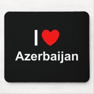 私はハートアゼルバイジャンを愛します マウスパッド