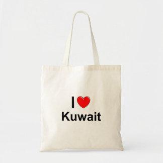 私はハートクウェートを愛します トートバッグ