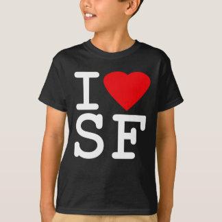 私はハートサンフランシスコを愛します Tシャツ