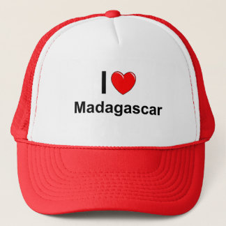 私はハートマダガスカルを愛します キャップ