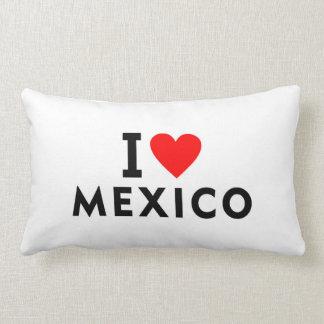 私はハート旅行観光事業のようなメキシコの国を愛します ランバークッション