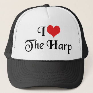 私はハープを愛します キャップ