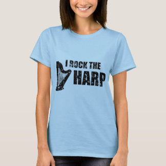 私はハープを揺すります Tシャツ