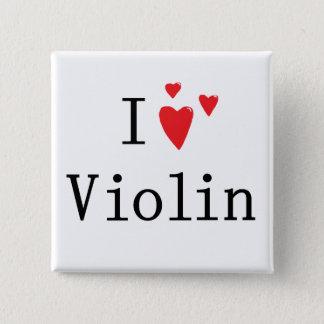 私はバイオリンを愛します 缶バッジ