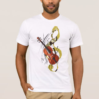 私はバイオリンを愛します Tシャツ