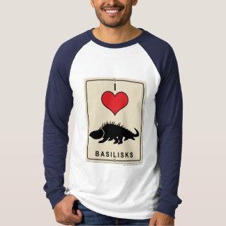 私はバジリスクを愛します Tシャツ