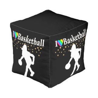 私はバスケットボールのデザインを愛します プーフ