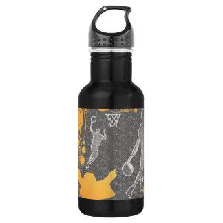 私はバスケットボールを愛します ウォーターボトル
