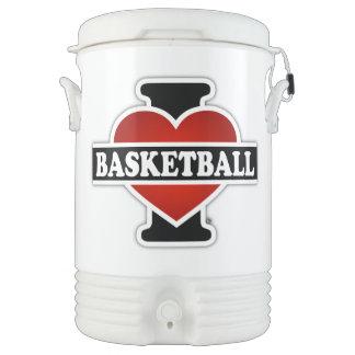 私はバスケットボールを愛します ドリンククーラー