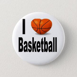 私はバスケットボールを愛します 缶バッジ