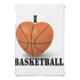 私はバスケットボールを愛します iPad MINIケース