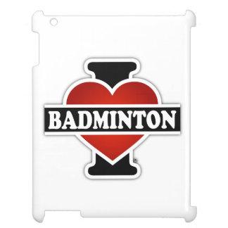 私はバドミントンを愛します iPadカバー