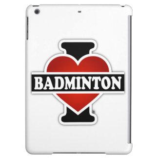 私はバドミントンを愛します iPad AIRケース