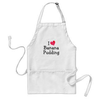 私はバナナプディングを愛します スタンダードエプロン