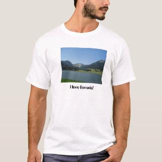 私はババリア- Spitzingsee --を愛します Tシャツ