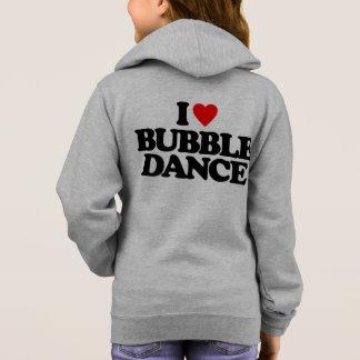 私はバブルダンスを愛します パーカ