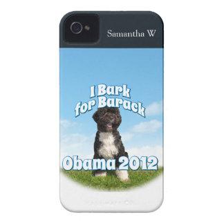 私はバラク、Boのために最初の犬オバマ吠えます Case-Mate iPhone 4 ケース
