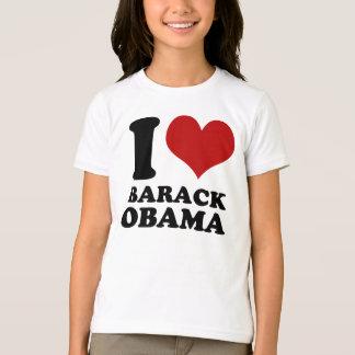 私はバラック・オバマの子供のTシャツを愛します Tシャツ