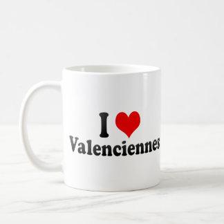 私はバランシエンヌ、フランスを愛します コーヒーマグカップ