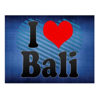 私はバリ島、インドを愛します。 Mera Pyarバリ島、インド ポストカード