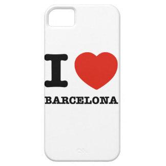 私はバルセロナを愛します iPhone SE/5/5s ケース