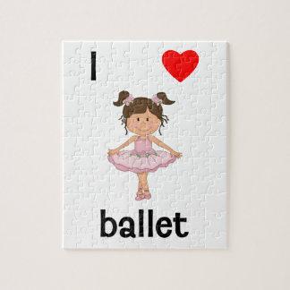 私はバレエを愛します ジグソーパズル