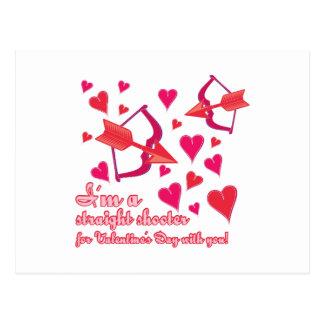私はバレンタインデーの一徹者とのです ポストカード