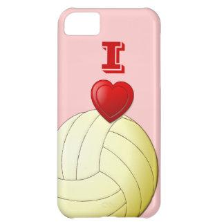 私はバレーボールのiPhone 5の場合を愛します iPhone5Cケース