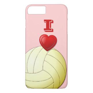 私はバレーボールのiPhone 7のプラスの場合を愛します iPhone 8 Plus/7 Plusケース