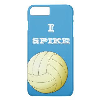 私はバレーボールのiPhone 7のプラスの箱を打ちつけます iPhone 8 Plus/7 Plusケース