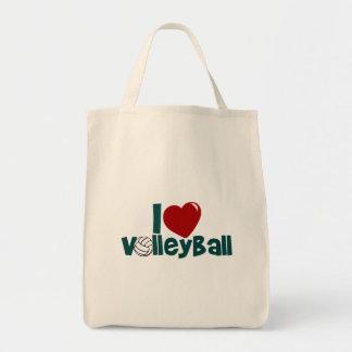 私はバレーボールを愛します トートバッグ