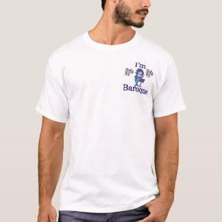 私はバロック式です Tシャツ