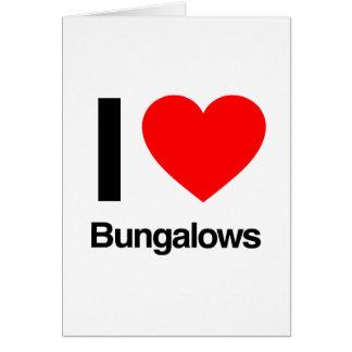 私はバンガローを愛します カード