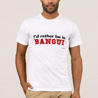私はバンギにむしろいます Tシャツ