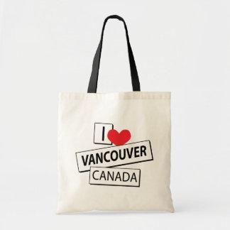 私はバンクーバーカナダを愛します トートバッグ