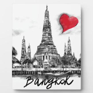 私はバンコクを愛します フォトプラーク