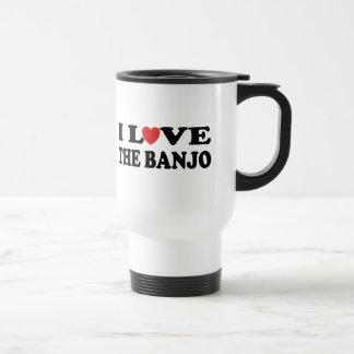 私はバンジョーを愛します トラベルマグ