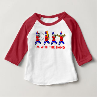 私はバンドとあります ベビーTシャツ