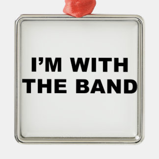 私はバンドとあります メタルオーナメント